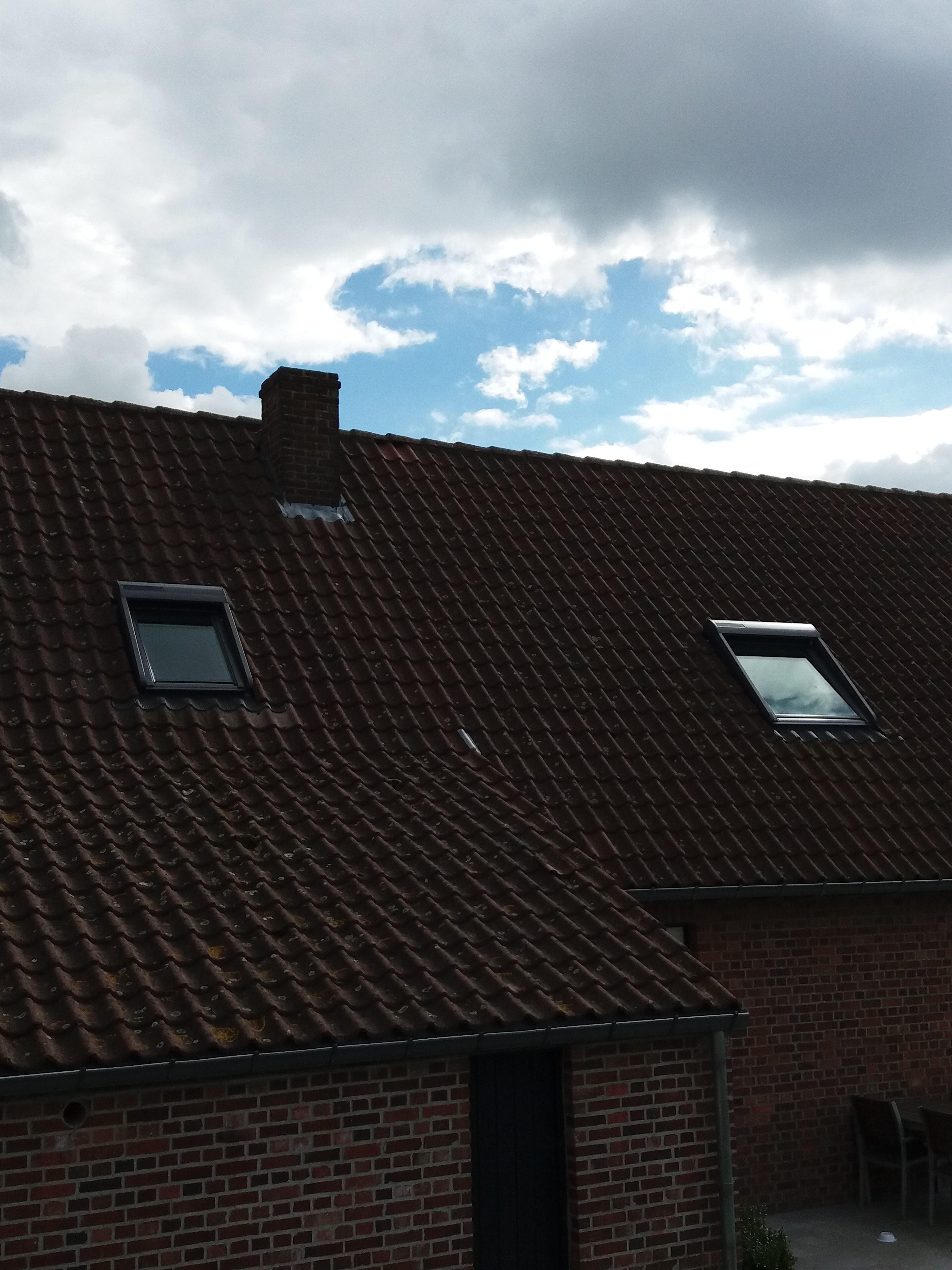 Velux avec volets solaire